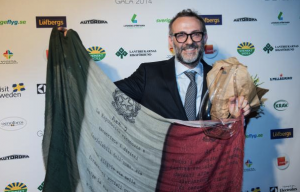 Italian Chef wins Global Gastronomy Award